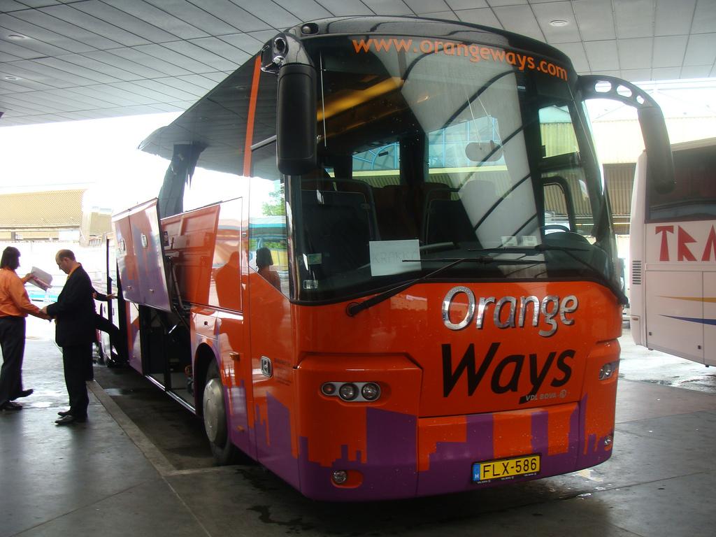 Автобус из Будапешта в Вену