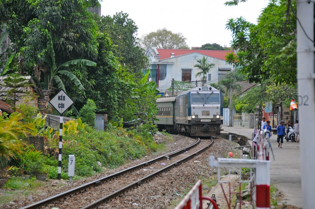 Поезд из Хошимина в Нячанг