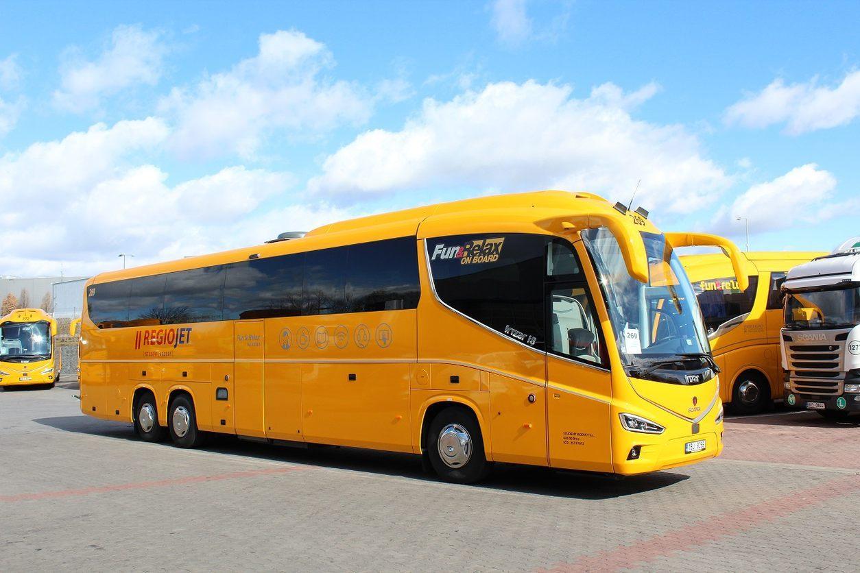 Из Праги вЧешский Крумлов на автобусе