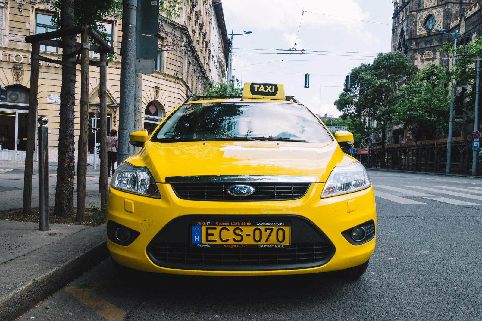 Такси из Будапешта в Вену