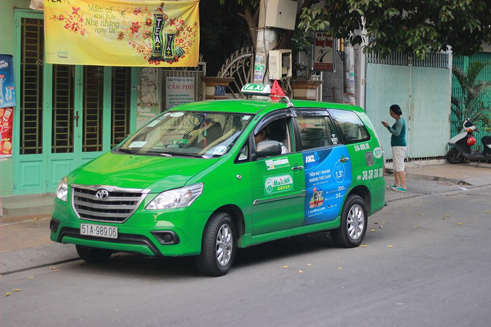 Такси из Хошимина в Нячанг