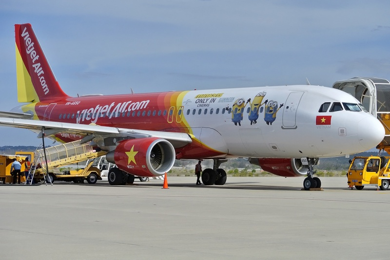 Самолет из Хошимина в Нячанг