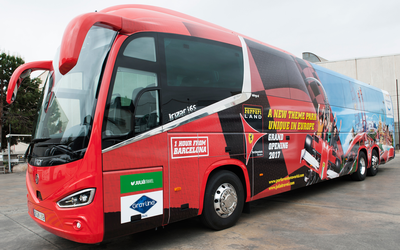 Автобус из Барселоны вПорт Авентура