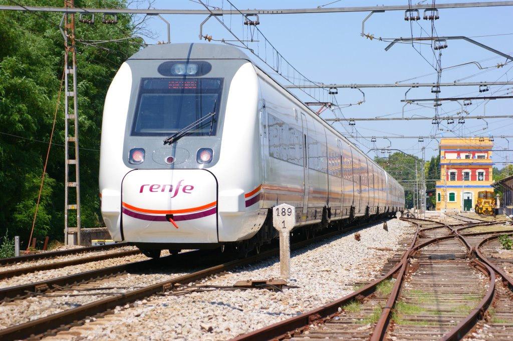 Поезд из Барселоны вПорт Авентура