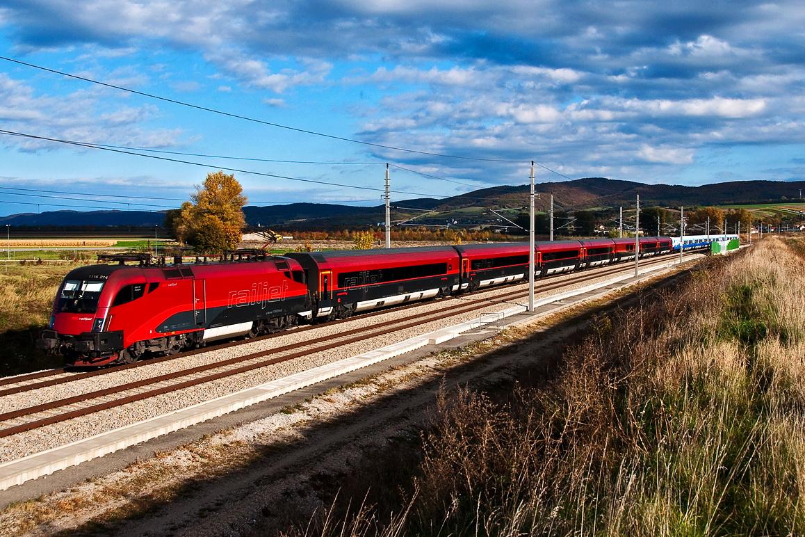 Из Будапешта в Вену на поезде