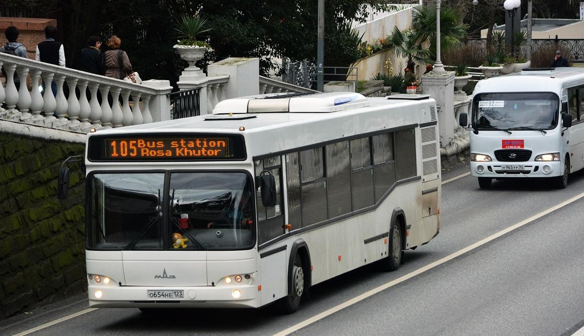 Автобус из аэропорта Адлер до ж/д вокзала