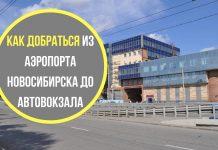 Как добраться из аэропорта Новосибирска (Толмачево) до автовокзала