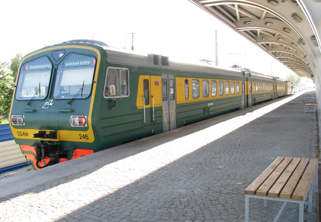 Поезд Кольцово - Екатеринбург