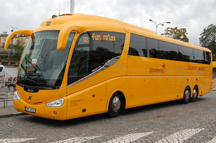 Автобус Берлин - Прага