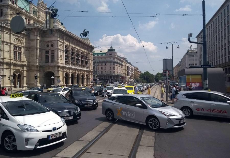 Такси из аэропорта Вены до вокзала Вены