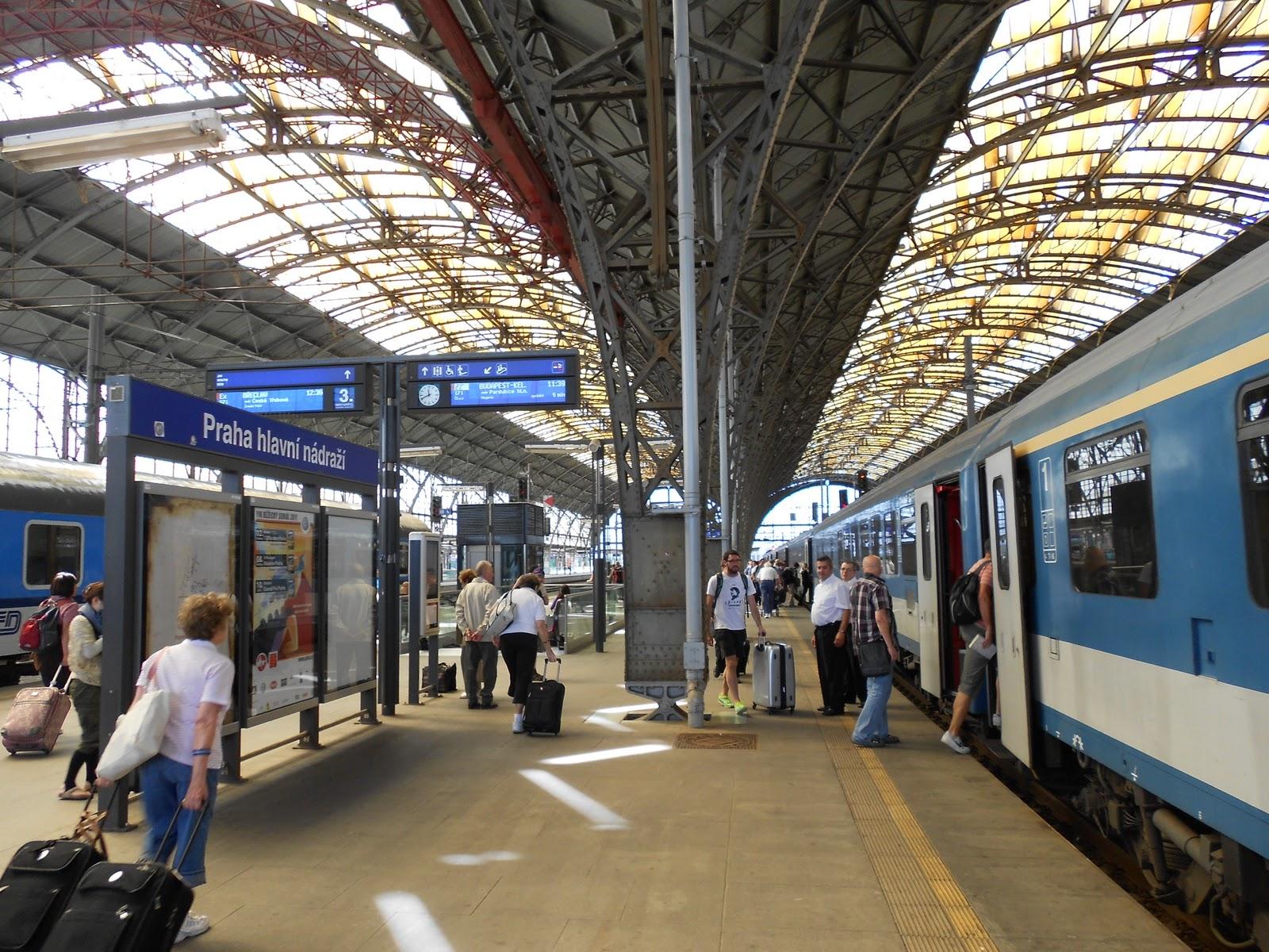 Поезд Берлин - Прага
