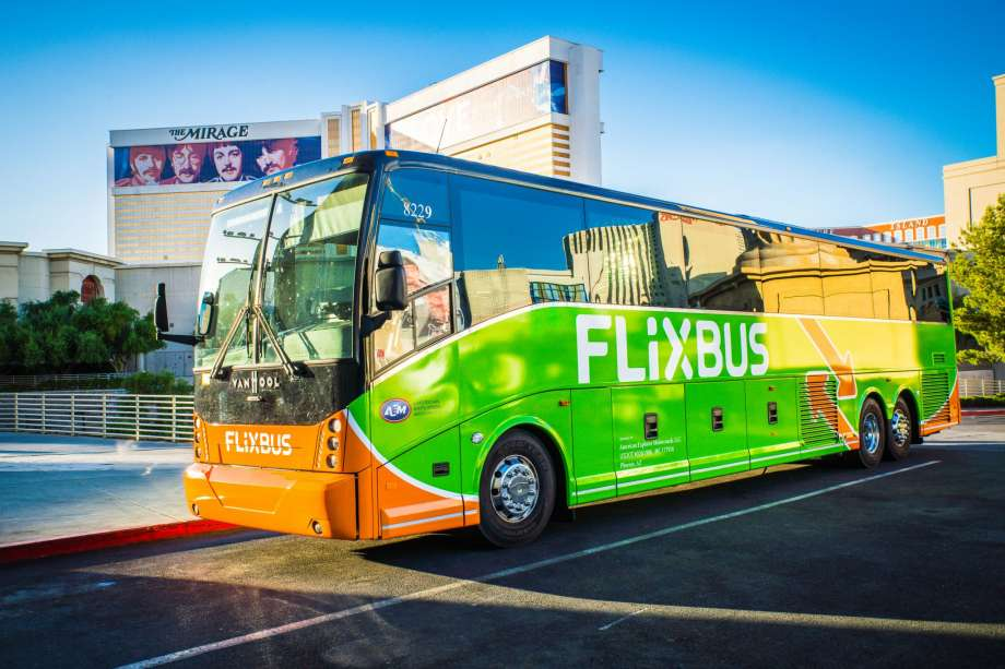 Автобус Flixbus из Амстердама в Брюссель