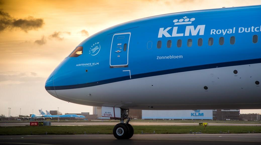 Самолет Амстердам - Брюссель