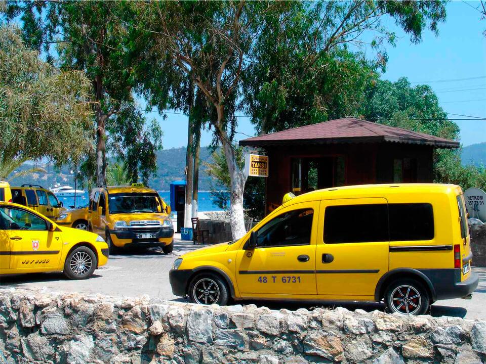 Такси из аэропорта Анталии до Текирова