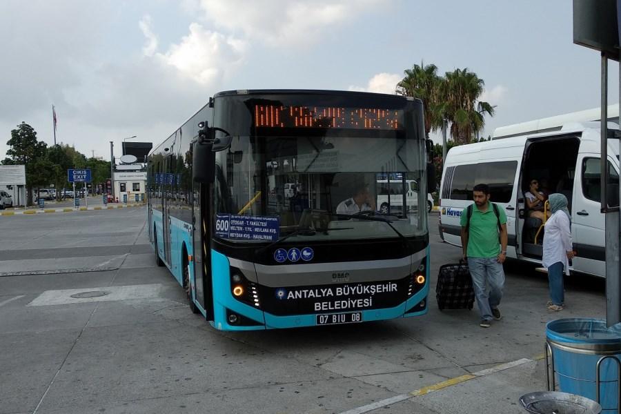 Автобус из аэропорта Анталии до Текирова