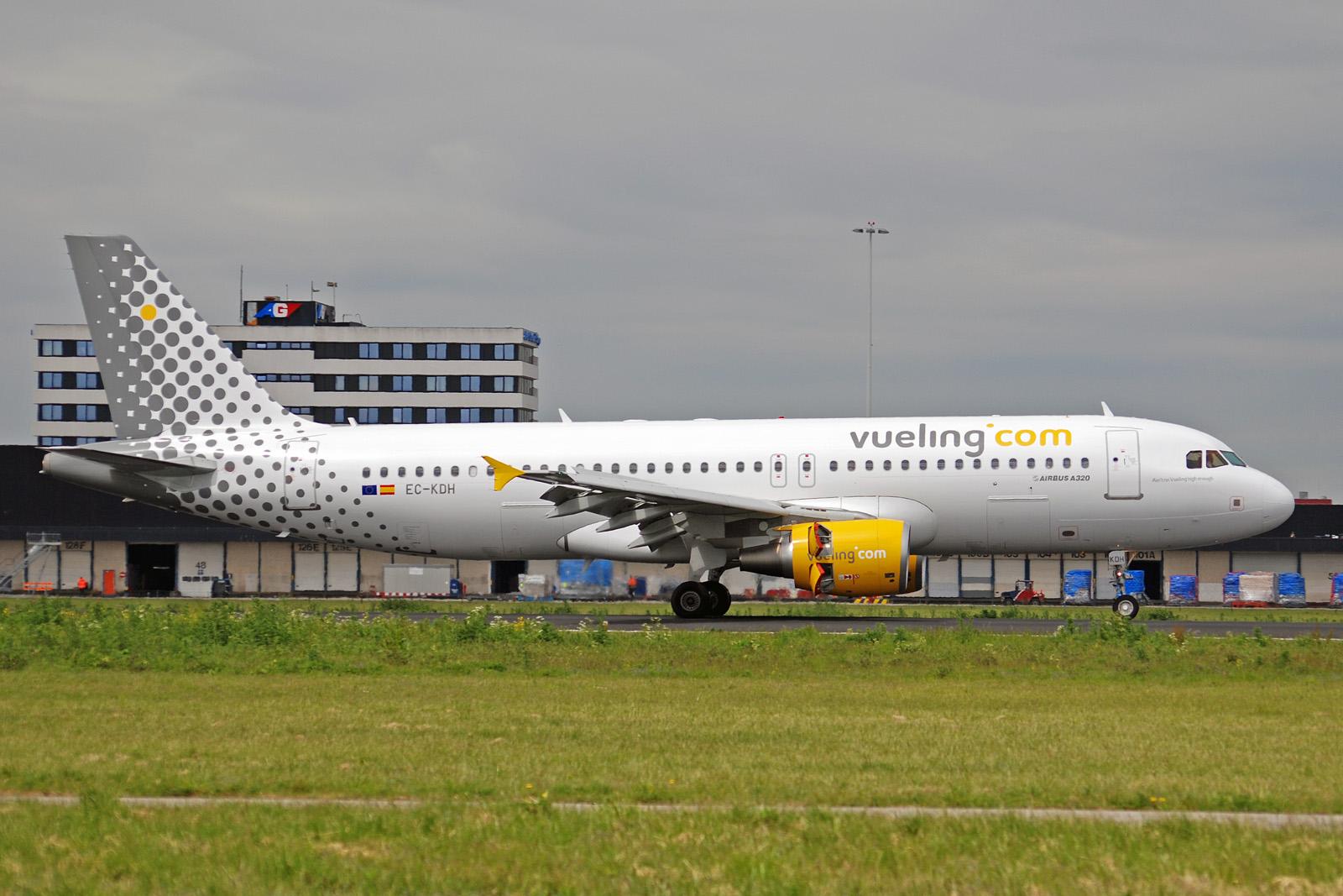 Самолет из Барселоны в Мадрид