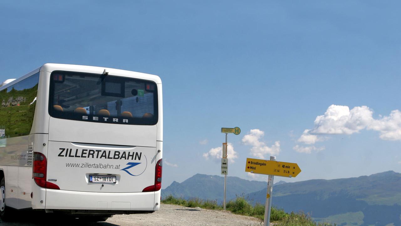 Автобус из Мюнхена до Майрхофен