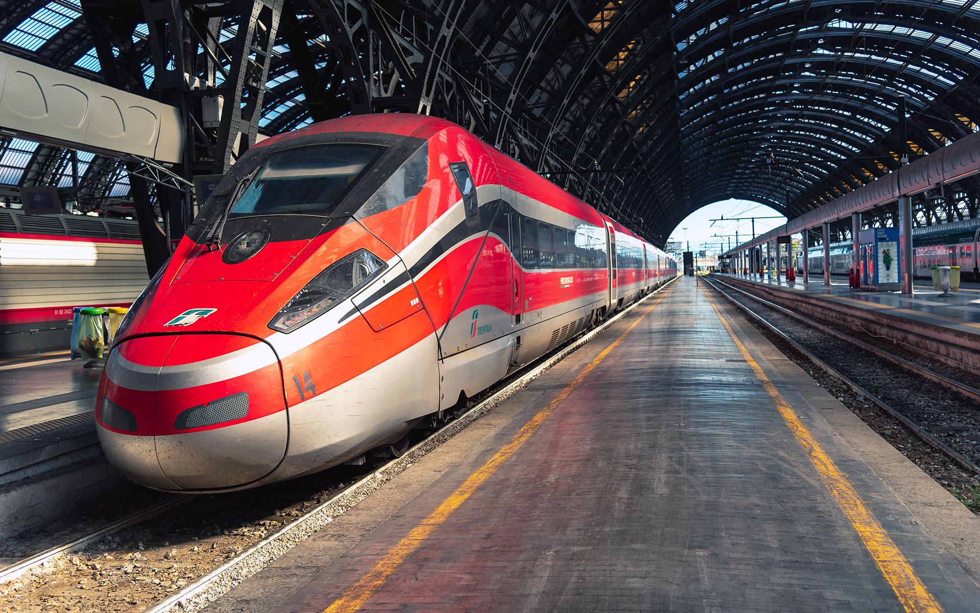 Из Рима до Флоренции поездом