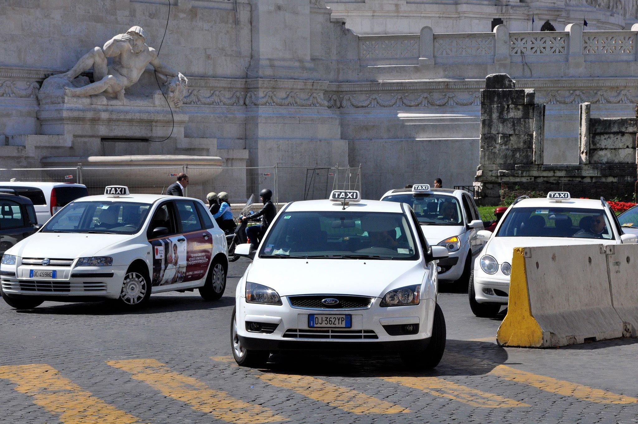 Из Рима до Флоренции на такси
